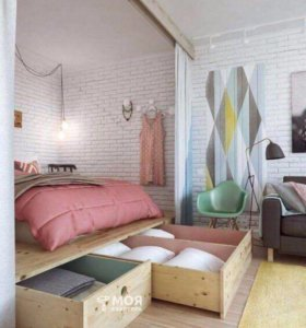 Двухкомнатная квартира в г .Шатура