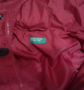 Куртки для мальчика rezerv.biniton и reima .