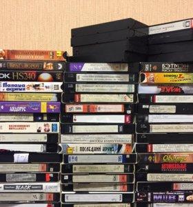 Видео кассеты 80 штук