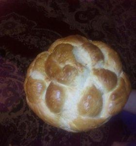 Домашний хлеб выпечка