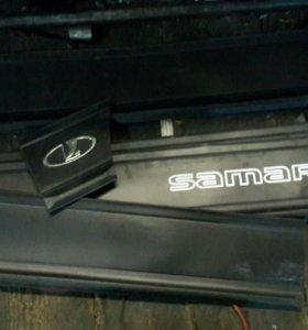 Комплект молдилгов на двери ВАЗ 2109-99