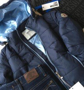 Новая куртка Moncler для мальчика
