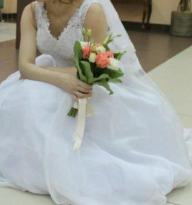 Свадебное платье👗 .Новое Срочное