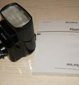 Вспышка hvl f32x. Произведено в Японии