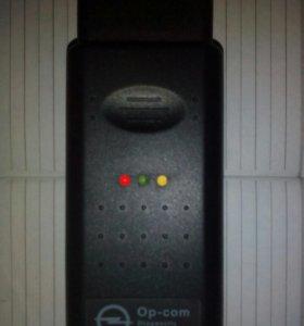Адаптер Opel OP-COM сканер для диагностики авто.