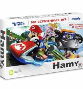 "Приставка Sega-Dendy ""Hamy 4"" 100-в-1 (Mario)"