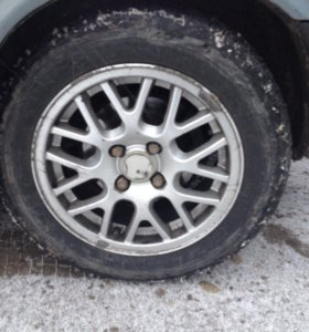 Колеса комплект , шины на сезон