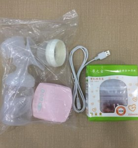 Новый электрический молокоотсос + пакеты