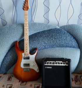 Набор гитара + комбик