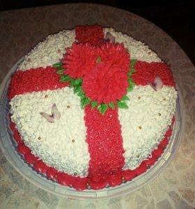 Домашние торты и капкейки на заказ