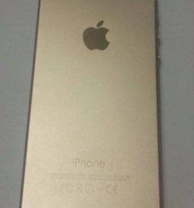 iPhone 5 в дизайне iPhone 6 gold