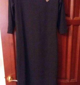 НОВОЕ черное платье