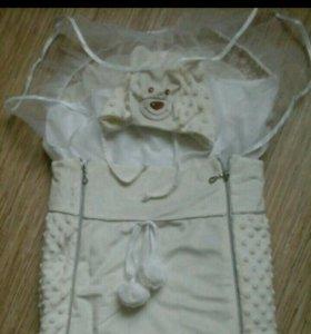 Конверт на выписку для новорожденных