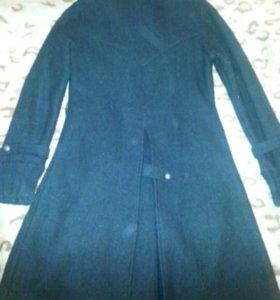 Пальто трикотаж без подкладки