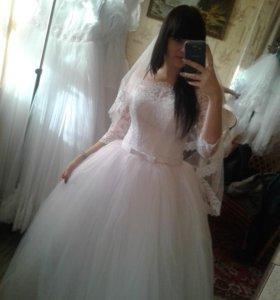 ‼️Счастливое свадебное платье!‼️