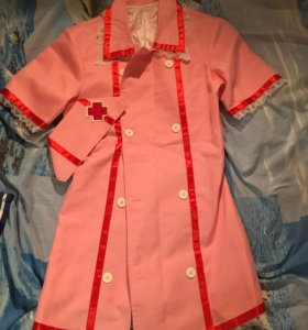 Косплей костюм медсестры Vocaloid Miku