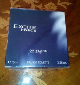 Туалетная вода мужская Excite force