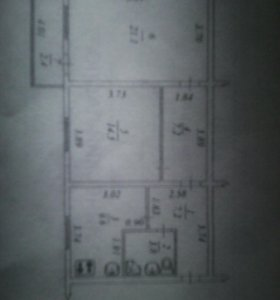 Продам 2х комнатную квартиру в брусовом доме