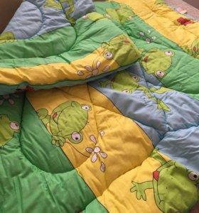 Одеяло детское, пуховое