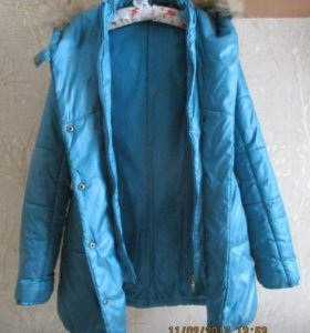 Детский зимний пуховик на девочку куртка