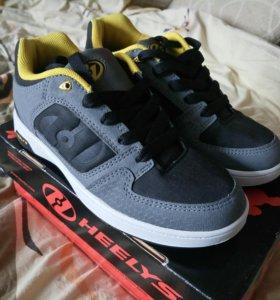 Роликовые кроссовки, новые р.38