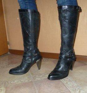 Newrock кожаные сапоги