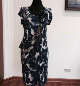 Платье из прибалтийского трикотажа