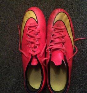 Футбольный бутсы Nike mercurial 45 размер