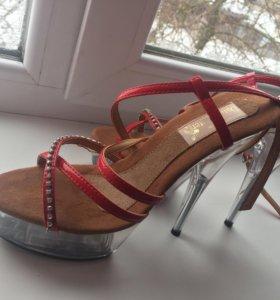 Туфли для танцев(стрипы )
