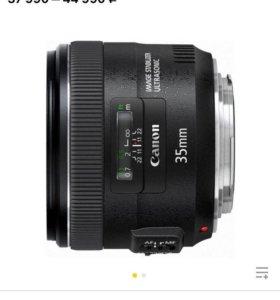 Объектив Canon EF 35mm f/2