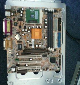 Материнская плата + процессор Intel