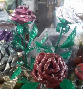 Железные розы