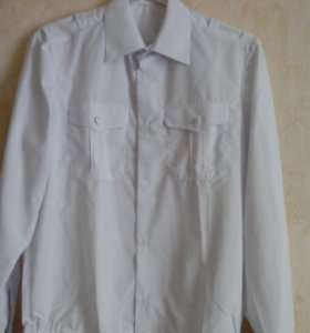 Рубашка белая для военнослужащих новая