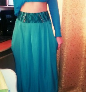 Длиная красивая юбка