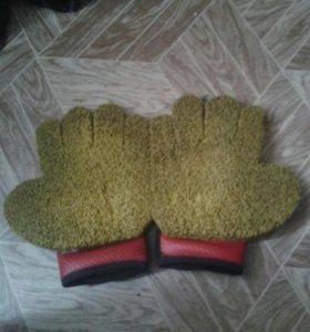 Перчатки варатарские для хоккея с мячом 2 пары