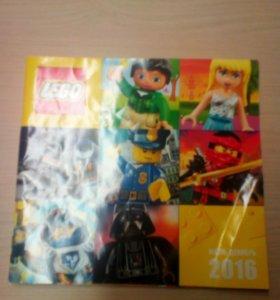 Журналы лего 2016г