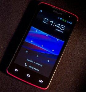 Телефон Смартфон Fhilips Xenium w732