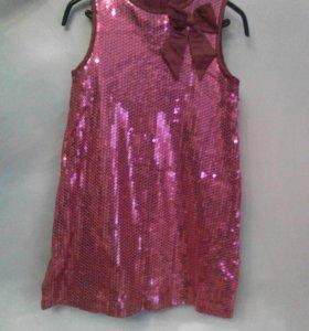 Праздничное платье 104рост