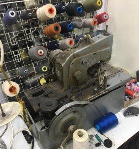 Промышленный полуавтомат для изготовления петель