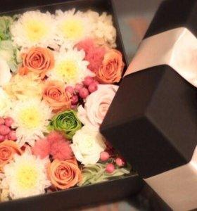 Подарок к Дню рождения, цветы на День Рождения