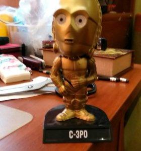 FunKo коллекционная игрушка-головотряс c3po