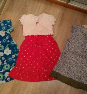 Новые нарядные платья 110, 116, 122 рост