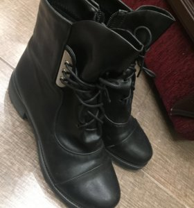 Ботиночки демисезонные новые