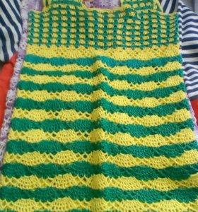 Платья, связанные на заказ