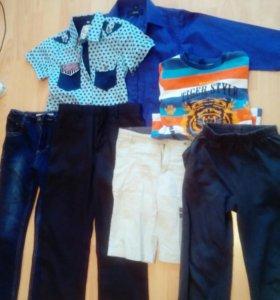 Рубашки, джинсы, брюки