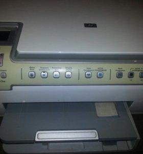 Принтер,сканер,копир.HP PhotoSmart C6283