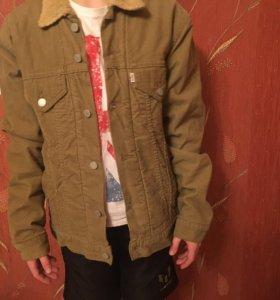 Вельветовая джинсовая куртка Levi's