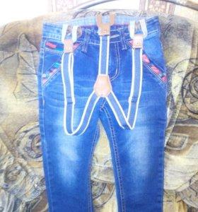 Комбезы джинсовые новые 89520505337