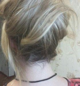 Восстановление волос, наращивание