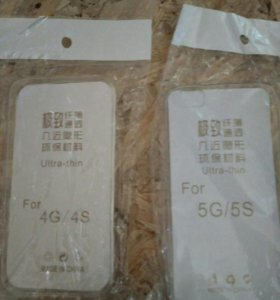 Чехол силиконовый 4s ,5s